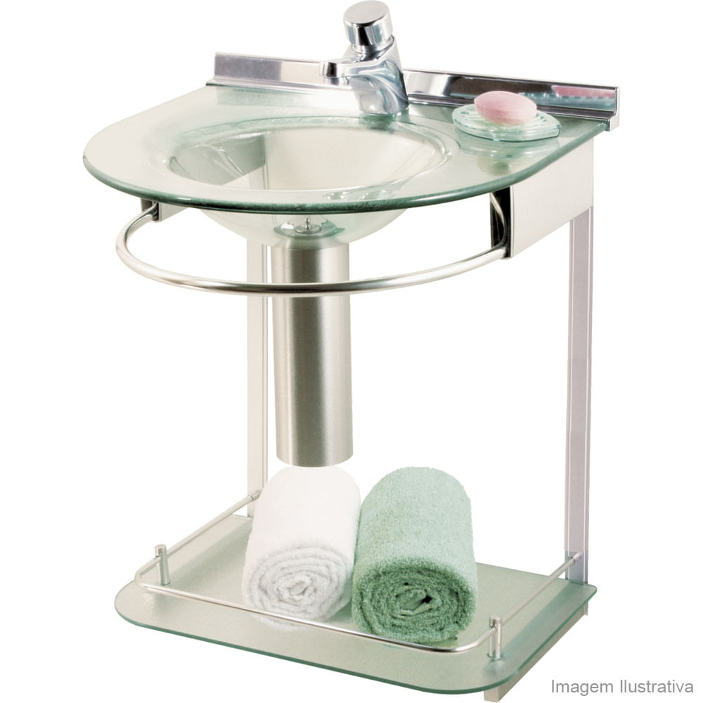 Cubas Para Banheiro de Vidro images -> Cuba De Vidro Para Banheiro Telha Norte