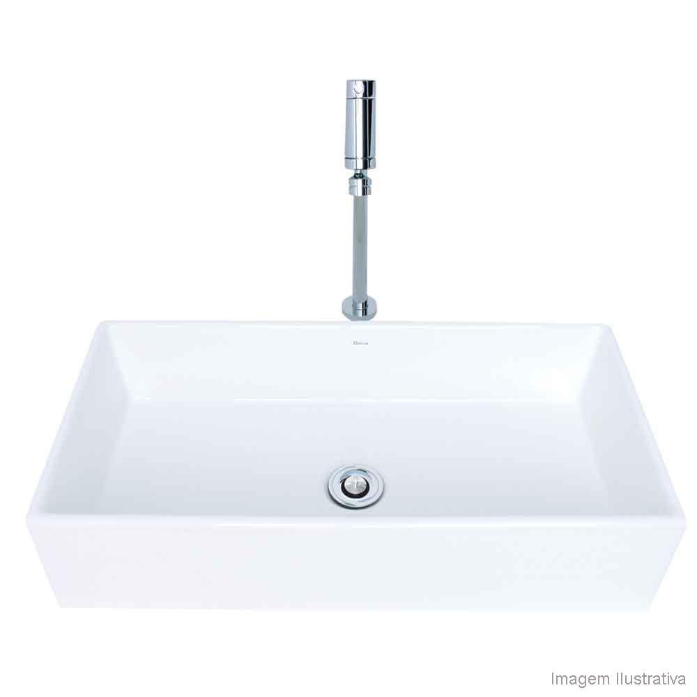 650978 -> Cuba Para Banheiro Suspensa Retangular Multiuso Gelo Deca