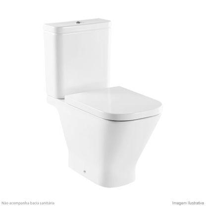 Vaso sanit rio com caixa roca hall branco b342627001 for Sanitarios roca hall