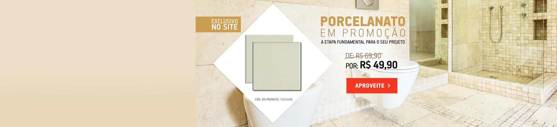Promoção Porcelanato