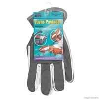 Luva-de-couro-Predador-Flex-com-dorso-em-tecido-cinza-DuraPlus