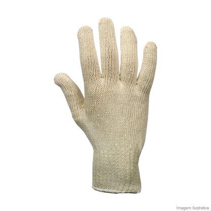 Luva de algodão Tricotada 4 fios Dura Plus