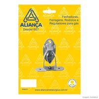 Prendedor-de-porta-de-aco-zamac-zincado-Piso-prata-Alianca