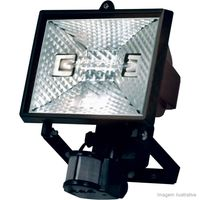 Refletor-para-lampada-300-500W-bivolt-preto-com-sensor-de-presenca-Taschibra