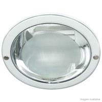 Embutido-de-aluminio-25W-redondo-para-2-lampadas-branco-Bonin