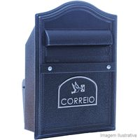 Caixa-de-correio-Alfa-Gradil-Eco-preta-Pintart
