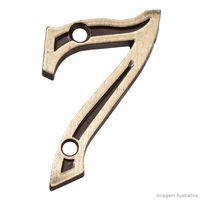 Numero-7-para-Apartamento-de-zamac-latonado-oxidado-Uniao-Mundial