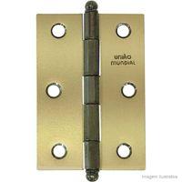 Dobradica-linha-Leve-de-latao-oxidado-3--Uniao-Mundial