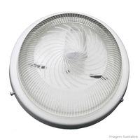 Plafon-para-1-lampada-Raiado-sem-grade-e-com-vidro-transparente-branco-Joanto