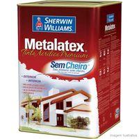 Tinta-Latex-Metalatex-Premium-acrilica-fosco-18L-mel-Sherwin-Williams