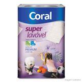 Tinta-Latex-Coraplus-Super-Lavavel-acrilico-18L-branco-neve-Coral
