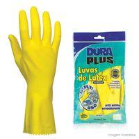 Luva-de-latex-Forrada-tamanho-G-amarela-Dura-Plus