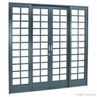 Porta-de-correr-4-folhas-Belfort-217x200x12cm-cinza-aleuta-Sasazaki