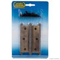 Dobradica-linha-Leve-de-latao-oxidado-com-aneis-3-1-2--antique-Uniao-Mundial
