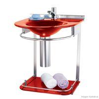 Lavabo-Cris-Mold-978-50x46x625cm-com-cuba-moldada-vermelho-Cris-Metal