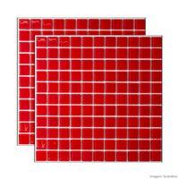 Pastilha-de-vidro-30x30cm-vermelha-Vidro-Real