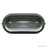 Tartaruga-oval-meia-Cana-preta-para-1-lampada-Home-Line