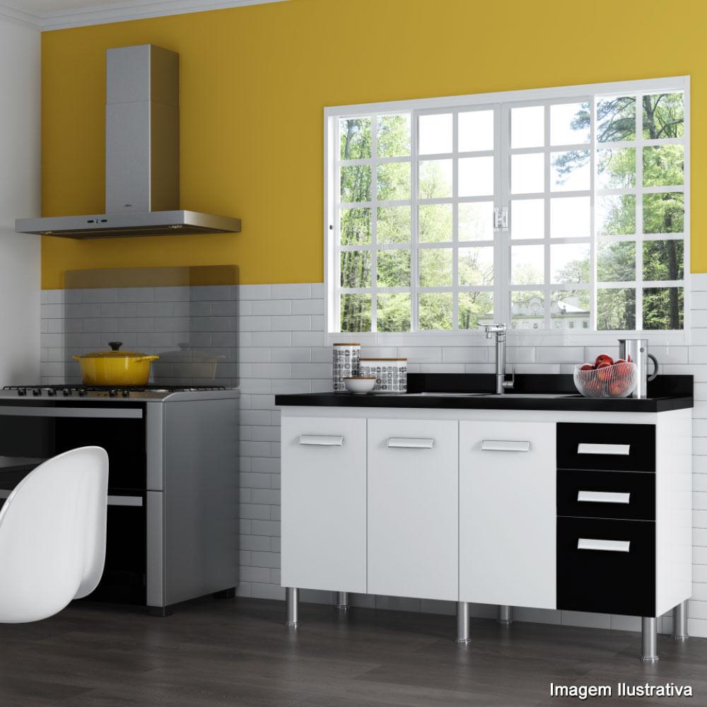 M Veis Para Cozinha Em Promo O Telhanorte ~ Balcão De Cozinha Em Alvenaria