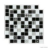 Pastilha-de-vidro-Patchwork-placa-292x292cm-preto-e-branco-Glass-Mosaic