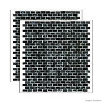 Pastilha-de-pedra-Strip-placa-286x286cm-preto-Glass-Mosaic