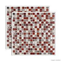 Pastilha-de-vidro-Machu-picchu-placa-31x31cm-vermelho-Glass-Mosaic