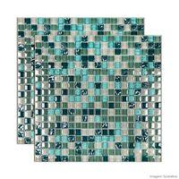 Pastilha-de-vidro-Galliano-placa-31x31cm-verde-Glass-Mosaic