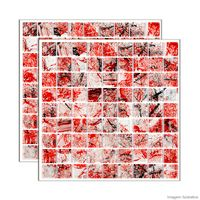 Pastilha-de-vidro-Monet-placa-292x292cm-vermelho-Glass-Mosaic