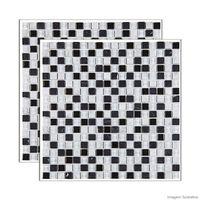 Pastilha-de-pedra-Matisse-placa-30x30cm-preto-e-branco-Glass-Mosaic