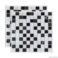 Pastilha-de-pedra-Matisse-placa-29x29cm-preto-e-branco-Glass-Mosaic