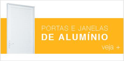 Banner P1 -  Portas e Janelas de Alumínio