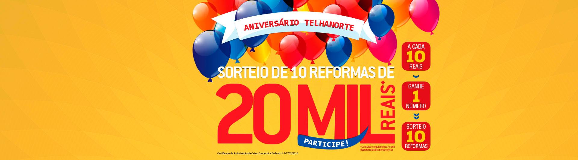 Banner Promoção de Aniversário