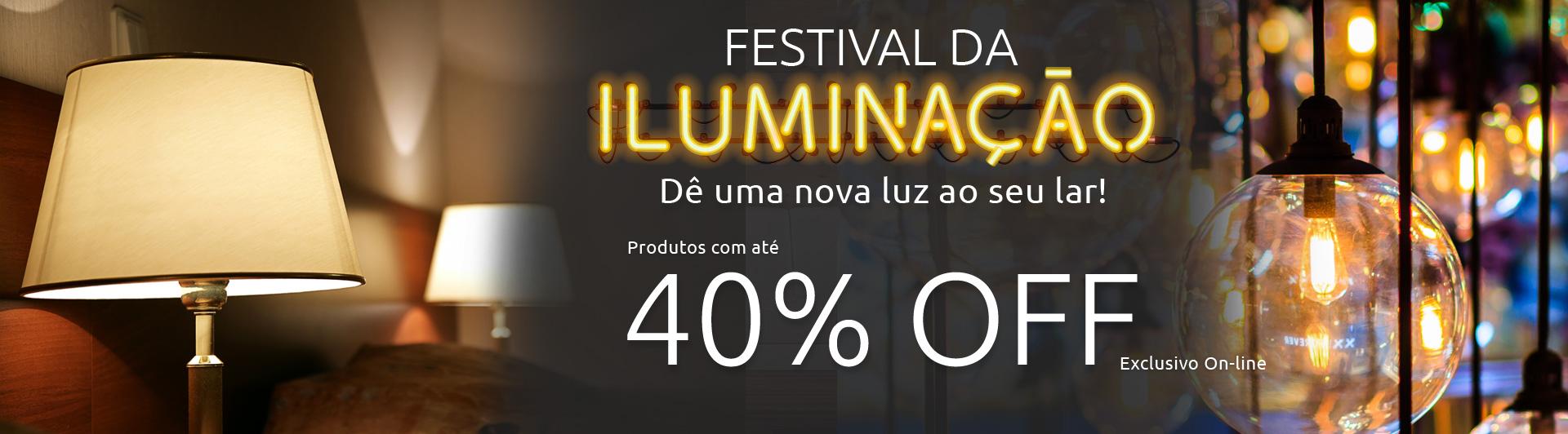 Banner - Festival de Iluminação