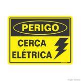 Placa-de-sinalizacao-15X20cm-PERIGO-CERCA-ELETRICA-Sinalize
