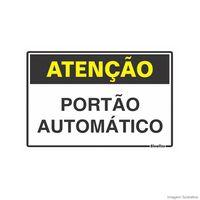 Placa-de-sinalizacao-20X30cm-ATENCAO-PORTAO-AUTOMATICO-Sinalize