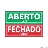 Placa-de-sinalizacao-20X30cm-ABERTO-FECHADO-Sinalize