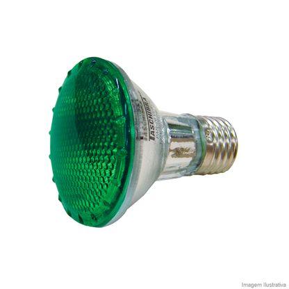 Lâmpada Taschibra Halógena Par20 50w 127v Verde - 7897079027341