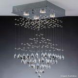 Pendente-Cristal-Thunder-quadrado-para-4-lampadas-GU10-Bronzearte