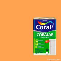Tinta-Latex-Coralar-economica-acrilica-18-litros-laranja-citrico-Coral