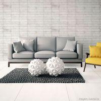 Porcelanato-Evidence-Brick-35x70cm-esmaltado-e-brilhante-white-Delta