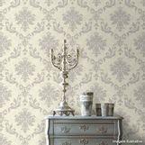Papel-de-parede-medalhao-cinza-e-prata-Casa-Bella-53cm-x-10m-Muresco