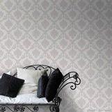 Papel-de-parede-arabesco-nacarado-branco-e-cinza-Casa-Bella-53cm-x-10m-Muresco