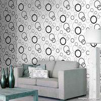 Papel-de-parede-circulos-branco-preto-cinza-e-prata-Casa-Bella--53cm-x-10m-Muresco