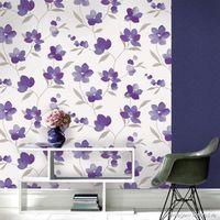 Papel-de-parede-lilas-branco-e-cinza-floral-Allegra-53cm-x-10m-Muresco