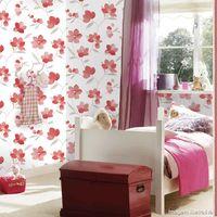 Papel-de-parede-floral-vermelho-branco-e-cinza-Allegra-53cm-x-10m-Muresco