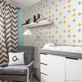 Papel-de-parede-losangos-turquesa-amarelo-e-cinza-Picnic-53cm-x-10m-Muresco