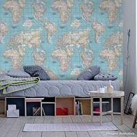 Papel-de-parede-mapa-mundi-azul-Allegra-53cm-x-10m-Muresco