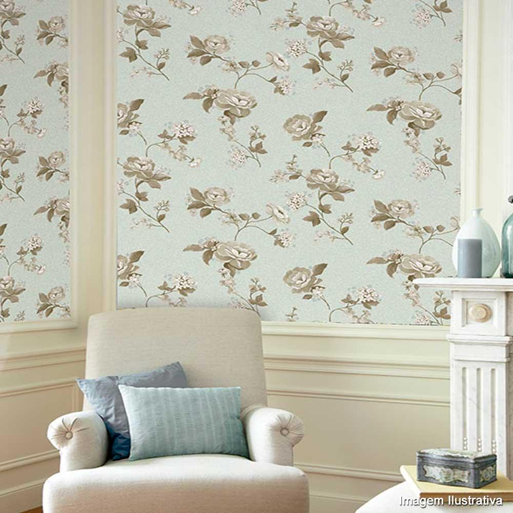 Papel parede casa bella for Papel para paredes salon