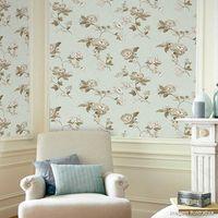 Papel-de-parede-floral-azul-castor-e-prata-Casa-Bella-vinilizado-53cm-x-10m-Muresco
