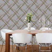 Papel-de-parede-geometrico-cinza-e-nacarado-Casa-Bella-vinilizado-53cm-x-10m-Muresco