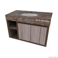 Gabinete-suspenso-Onix-800-marrom-Gaam